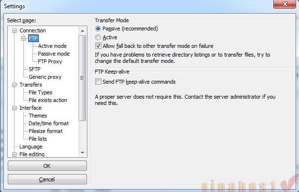 Hướng dẫn upload file với FTP / SCP