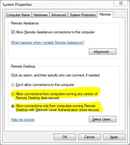 Một số lỗi Remote Desktop thường gặp và cách khắc phục