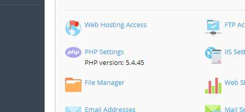 xu_ly_loi_trang_trang_khi _thay_doi_version_PHP_tren_windows_hosting_1
